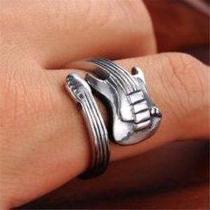 Other - Stainless Steel Guitar Wrap Unisex Ring New